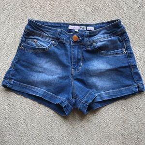 Size 3 Blue Jean Shorts